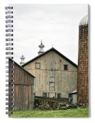 Barn On The Georgia Shore Road Spiral Notebook