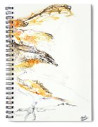 Barn Owl And Tree Spiral Notebook
