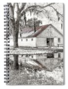 Barn Reflection Spiral Notebook