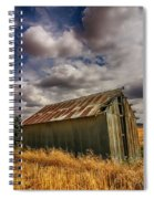 Barn Solitude Spiral Notebook