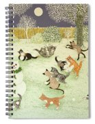 Barn Storming Spiral Notebook