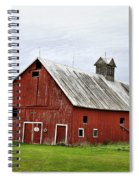 Barn With A Cross Spiral Notebook