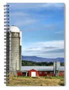 Barn With A View Spiral Notebook