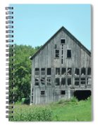 Barn With Chickens In Window Spiral Notebook