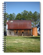 Barn With Tree In Silo Spiral Notebook