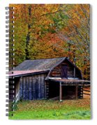 Barn Woodford Mountain Spiral Notebook