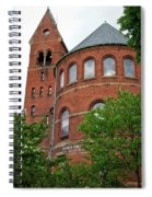 Barnes Hall Cornell University Ithaca New York 02 Spiral Notebook