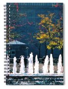 Barney Allis Plaza-kansas City Spiral Notebook