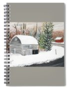Barns Of West Sand Lake 2 Spiral Notebook