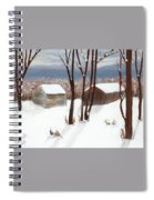 Barns Of West Sand Lake Spiral Notebook