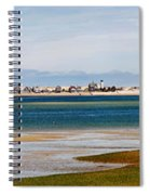 Barnstable Harbor Panorama Spiral Notebook