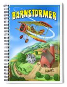 Barnstormer Spiral Notebook