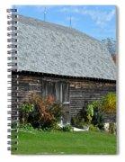 Barnwood Spiral Notebook