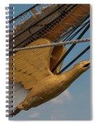 Barque Eagle Masthead Spiral Notebook