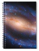 Barred Spiral Galaxy Ndc 1300 Spiral Notebook