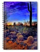 Barrel Cacti Ambling Along Spiral Notebook