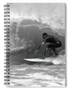 Barrel Ride Spiral Notebook