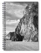Barren Coast Spiral Notebook