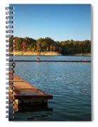 Barren River Lake Dock Spiral Notebook