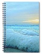 Barrier Island Bubbles Spiral Notebook