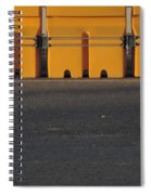 Barriers Of Yellow Spiral Notebook