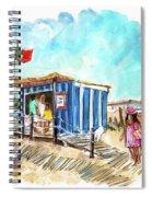 Barril Beach 05 Spiral Notebook