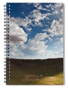 Barringer Meteor Crater #4 Spiral Notebook