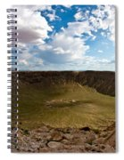 Barringer Meteor Crater #5 Spiral Notebook