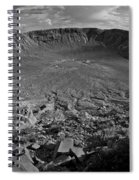 Barringer Meteor Crater #7 Spiral Notebook