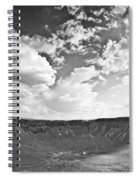 Barringer Meteor Crater Spiral Notebook