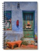 Barrio Viejo With Character Spiral Notebook