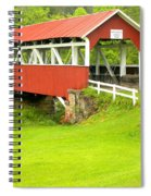 Barron's Covered Bridge Spiral Notebook