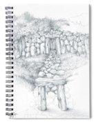 Barrow Tomb Spiral Notebook
