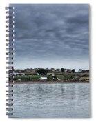 Barry Island Panorama Spiral Notebook
