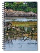 Barry Island Wrecks 2 Spiral Notebook
