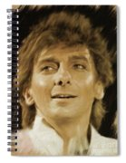 Barry Manilow, Music Legend Spiral Notebook
