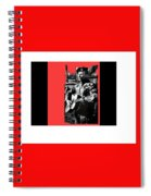 Barry Sadler Playing Guitar Circa 1966-2016 Spiral Notebook
