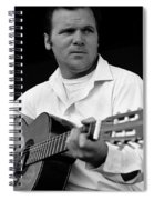 Barry Sadler With Guitar 3 Tucson Arizona 1971 Spiral Notebook