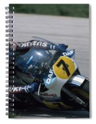 Barry Sheene. 1984 Nations Motorcycle Grand Prix Spiral Notebook