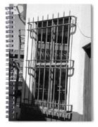 Bars Spiral Notebook
