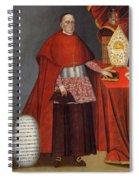 Bartholomew Fabro Y Palacios - Bishop Of Huamanga  Spiral Notebook