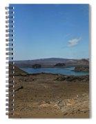 Bartolome Island Panorama Spiral Notebook