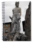 Bartolomeo's Neptune Fountain 2 Spiral Notebook
