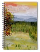 Barton Sunset Spiral Notebook