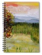 Barton Sunset Spiral Notebook