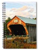 Bartonsville Covered Bridge Spiral Notebook