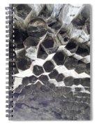 Basalt Rock Columns Formations Spiral Notebook