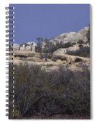 Base Camp - White Ledge Plateau - San Rafael Wilderness Spiral Notebook