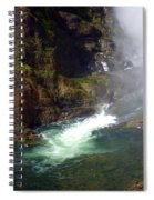 Base Of The Falls 1 Spiral Notebook