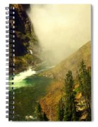 Base Of The Falls 2 Spiral Notebook